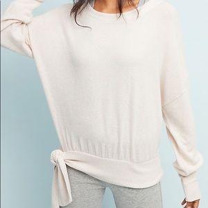 Anthropologie Payton Brushed Fleece Pullover